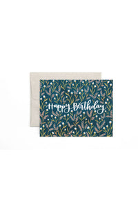 BIRTHDAY FIELD FLORAL CARD