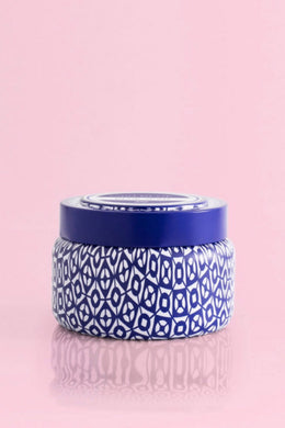 SIGNATURE PRINTED TRAVEL TIN CANDLE