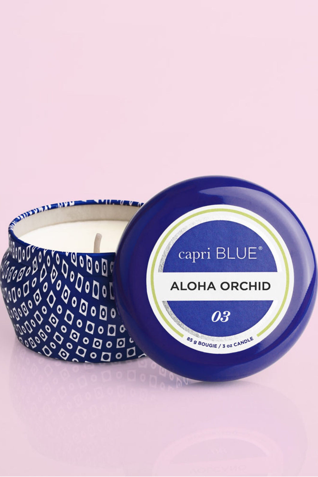 ALOHA ORCHID MINI TIN CANDLE