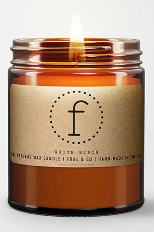 FRAE & CO NATURAL WAX CANDLES