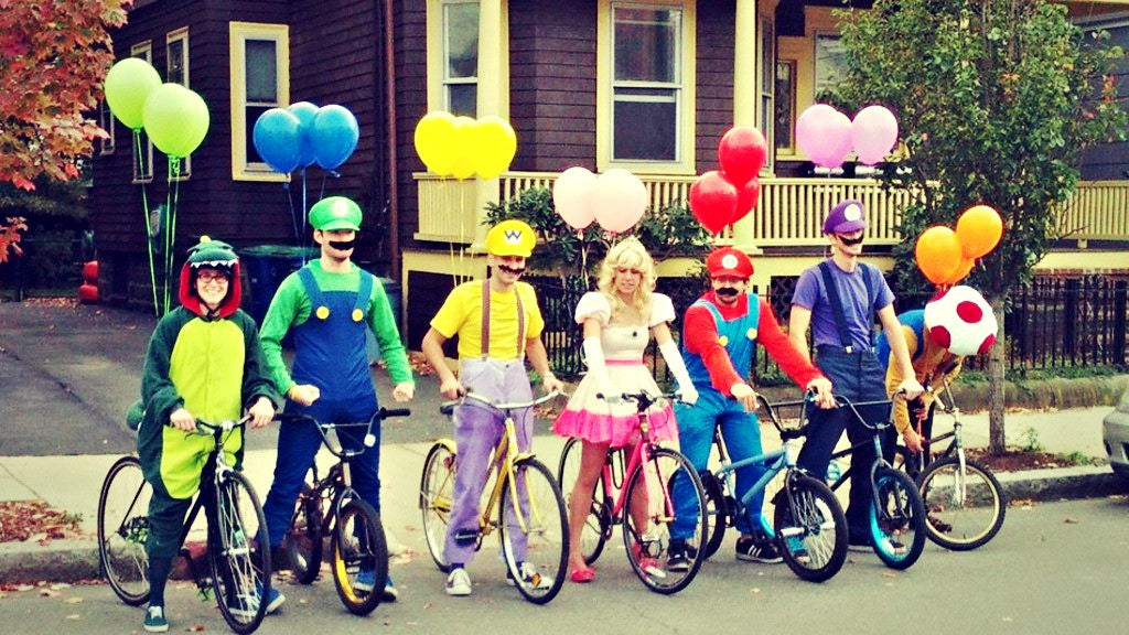 Halloween Bike Costumes for Procrastinators