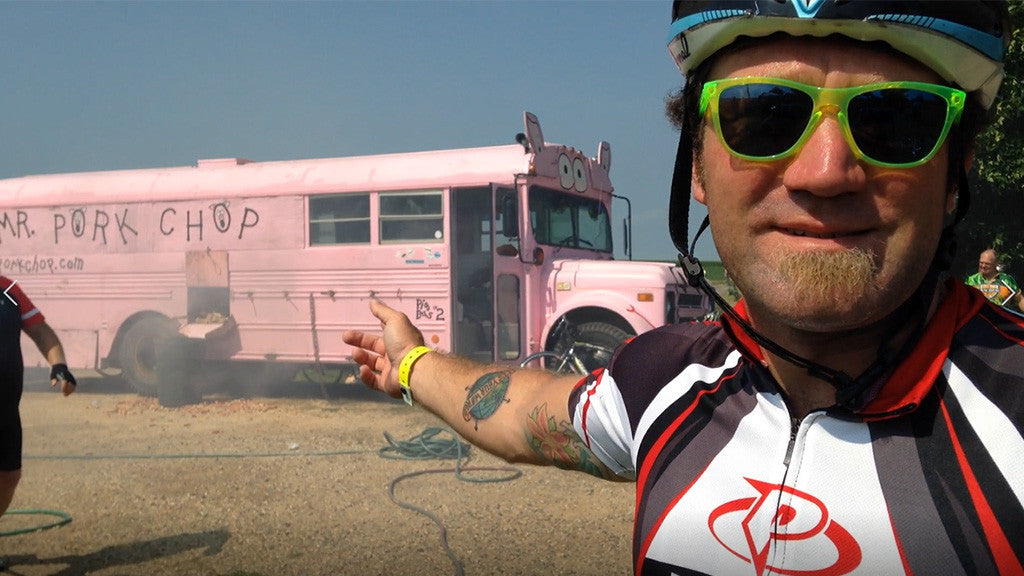 Mr. Pork Chop: Redefining How Cyclists Eat