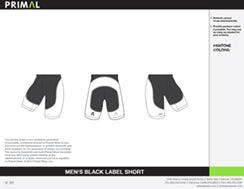 Men's Black Label Short