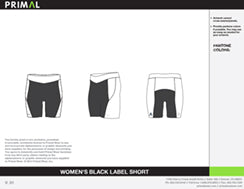 Women's Black Label Short
