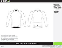 L/S Race Cut Raglan