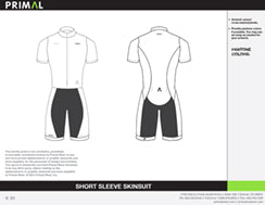Skinsuit Short Sleeve