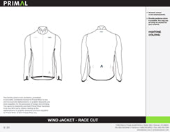 Wind Jacket - Race Cut