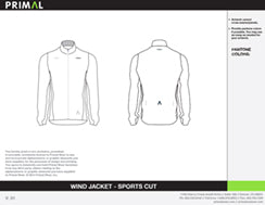 Wind Jacket - Sport Cut