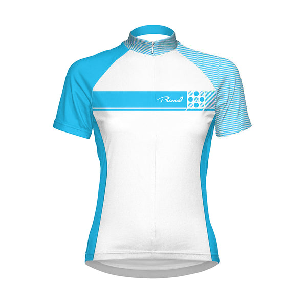 Caprice Blue Women's Cycling Jersey