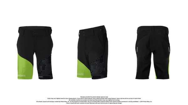 Men's Escade Shorts - Fit Kit