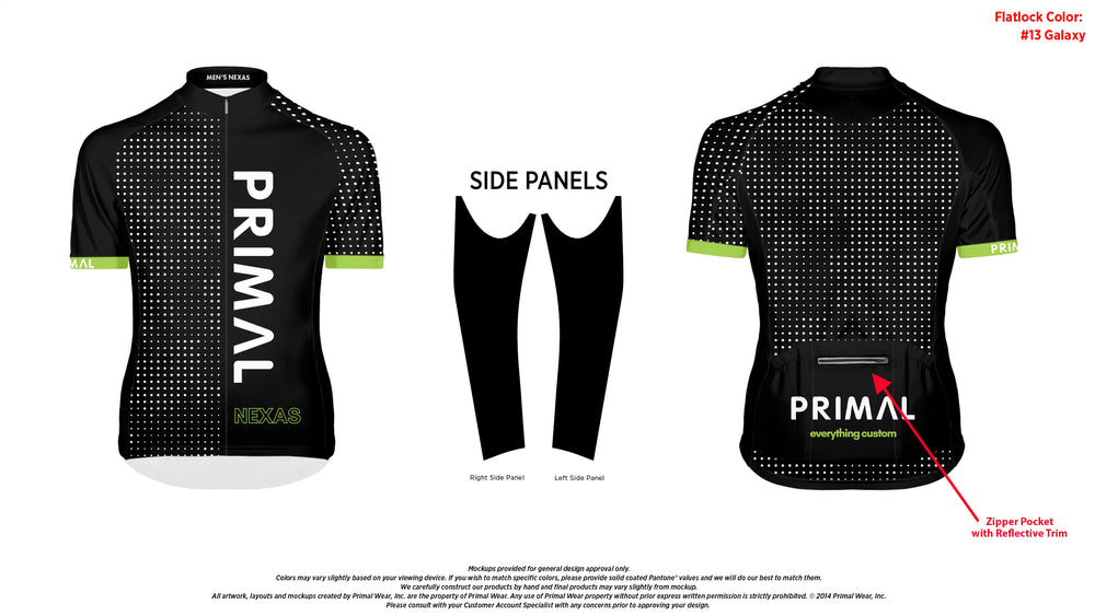 Limited Men's Nexas Jersey - Fit Kit