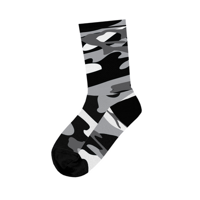 Basic Camo Black Socks