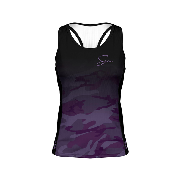 Purple Camo Women's Gemini Tank