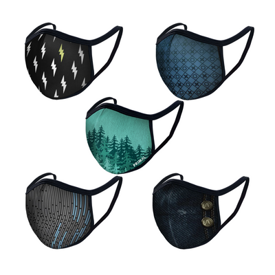 Mask 1.0 Bundle 2 (Pack of 5 Masks)