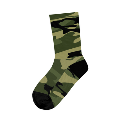 Basic Camo Green Socks