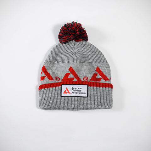 American Diabetes Association Beanie w/ Puff