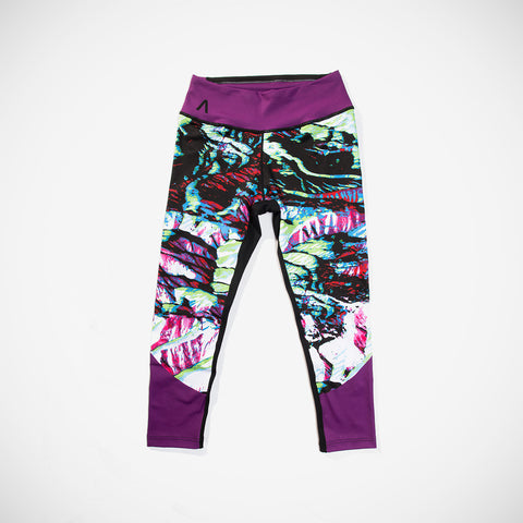 Alpine Camo Crop Leggings