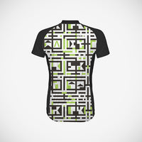 A-Maze-Ing Women's Cycling Jersey (3QZ) - Large Only