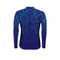 Augusta Blue Women's Heavyweight Cycling Jersey