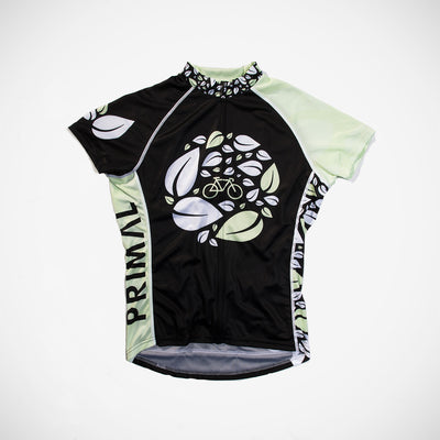 B-Leaf Women's Sport Cut Cycling Jersey