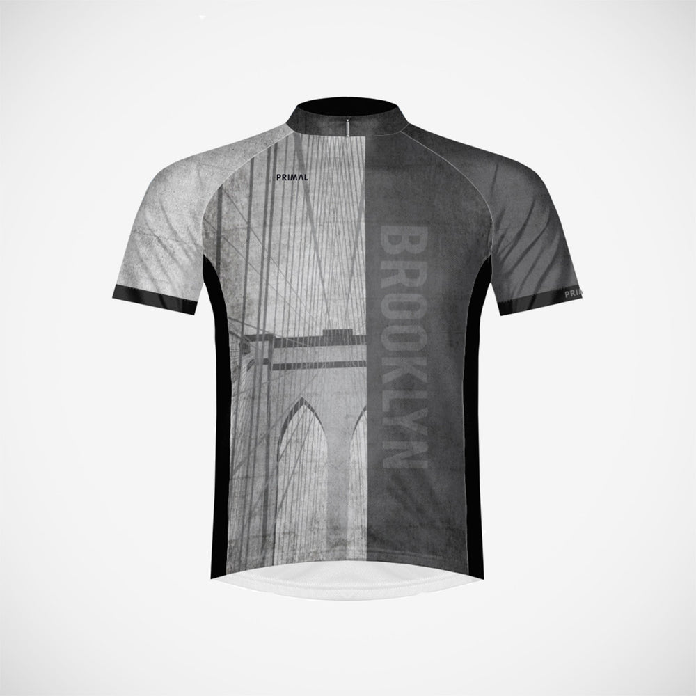 bdd7dcc4e Brooklyn Men s Cycling Jersey – Primal Wear