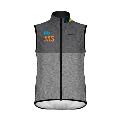 Bike MS Men's Wind Vest - Grey