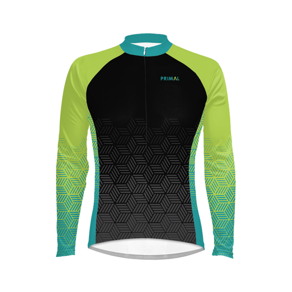 Neon Blackburn Men's Heavyweight Cycling Jersey
