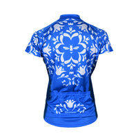 Doyenne Blue Bee Women's Sport Cut Cycling Jersey
