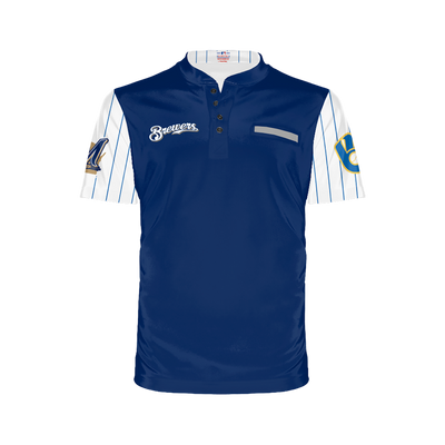 Milwaukee Brewers Men's Henley