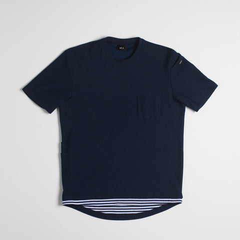 Waller Men's Cargo T-Shirt - Navy Blue