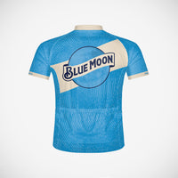Coors Blue Moon Men's Sport Cut Cycling Jersey