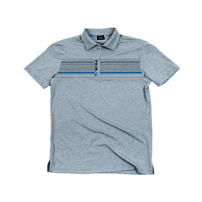 Cadre Zippered Men's Polo Shirt