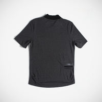 Davis Men's V-Neck Tee Dark Grey