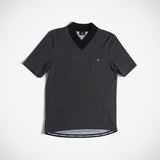 Davis Men's V-Neck Tee - Dark Grey