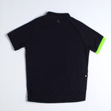 Miles Men's Polo - Jet Black