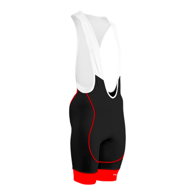 Ebony Men's Red Helix 2.0 Bibs