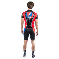 Grateful Dead Team Steal Your Face Men's Sport Cut Cycling Jersey