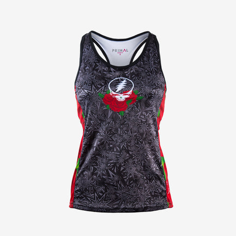 Grateful Dead Ramble on Rose Women's Gemini Tank