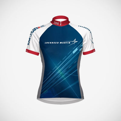 2016 Lockheed Martin Women's Cycling Jersey