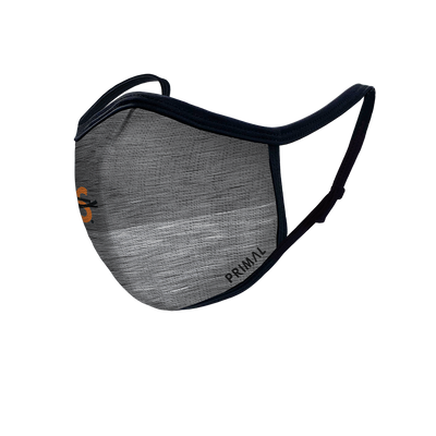 Bike MS Grey Face Mask 2.0 Filter + Frame Bundle