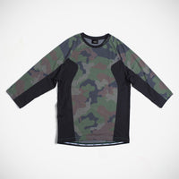 Hodges 3/4 Sleeve Shirt - Micro Camo Dark Grey
