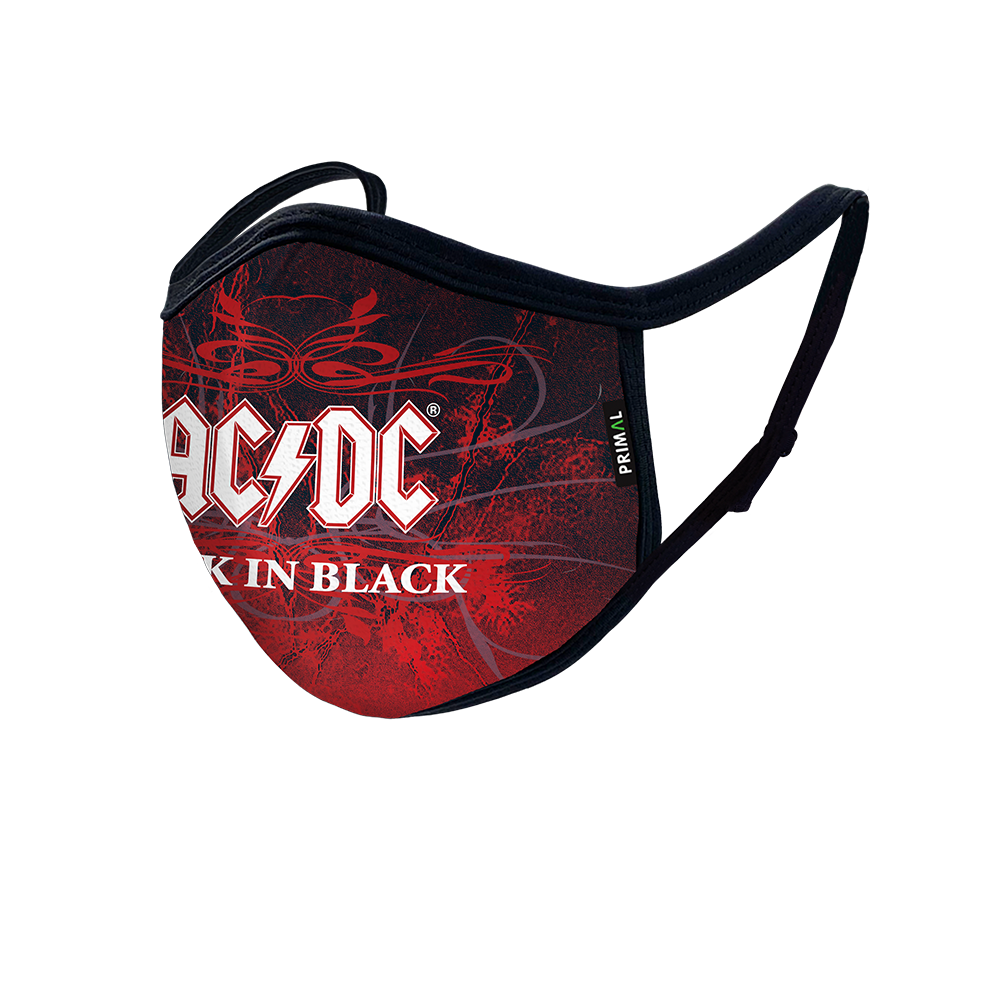 AC/DC Back in Black Mask 3.0 Filter + Frame Bundle