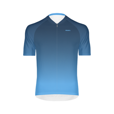 Fade In Men's Blue Omni Cycling Jersey