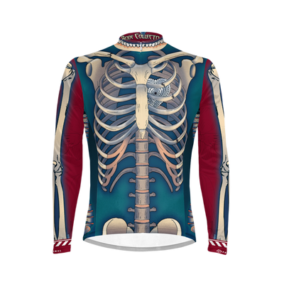 Bone Collector Men's Long Sleeve Cycling Jersey (3QZ)