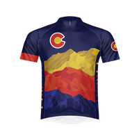 Colorado Flag Men's Sport Cut Cycling Jersey