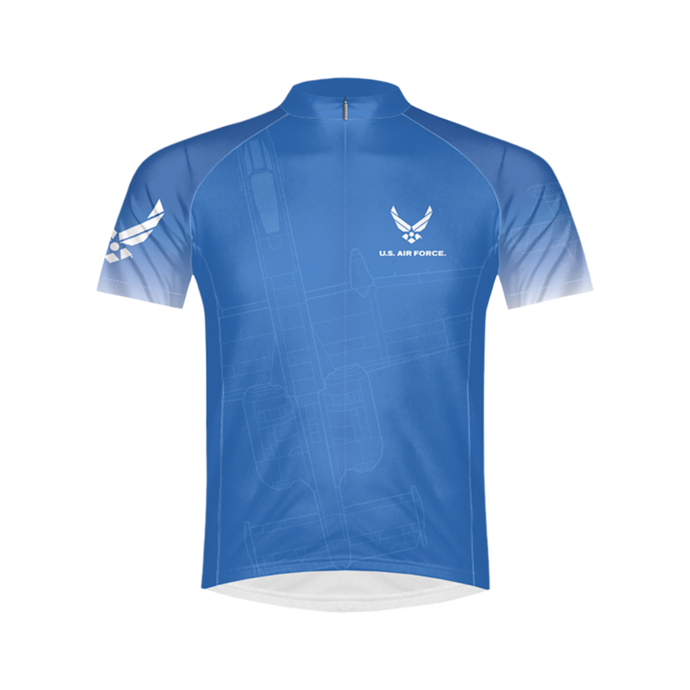Air Force Aim High Men's Sport Cut Cycling Jersey