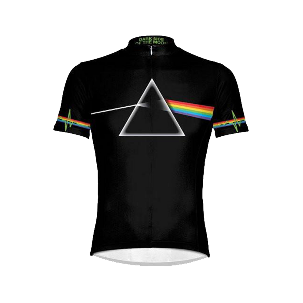Pink Floyd The Dark Side of the Moon Men's Sport Cut Cycling Jersey
