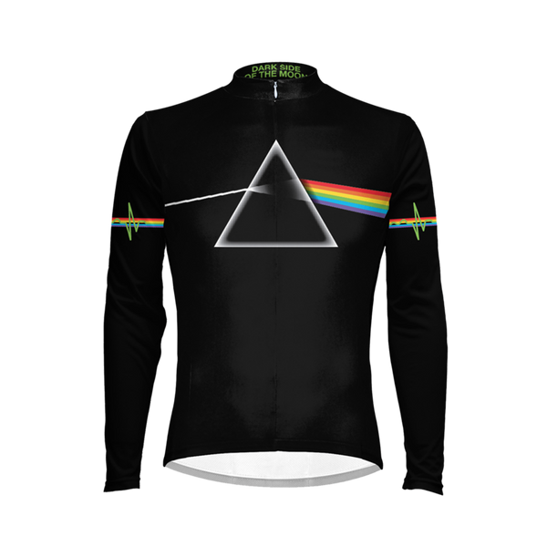 Pink Floyd The Dark Side of the Moon Men's Long Sleeve Cycling Jersey