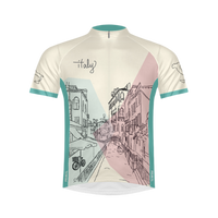 Italy Men's Sport Cut Cycling Jersey