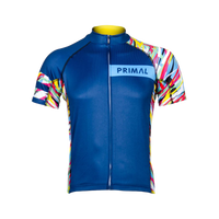 Wild Roads Men's Evo Jersey - Navy